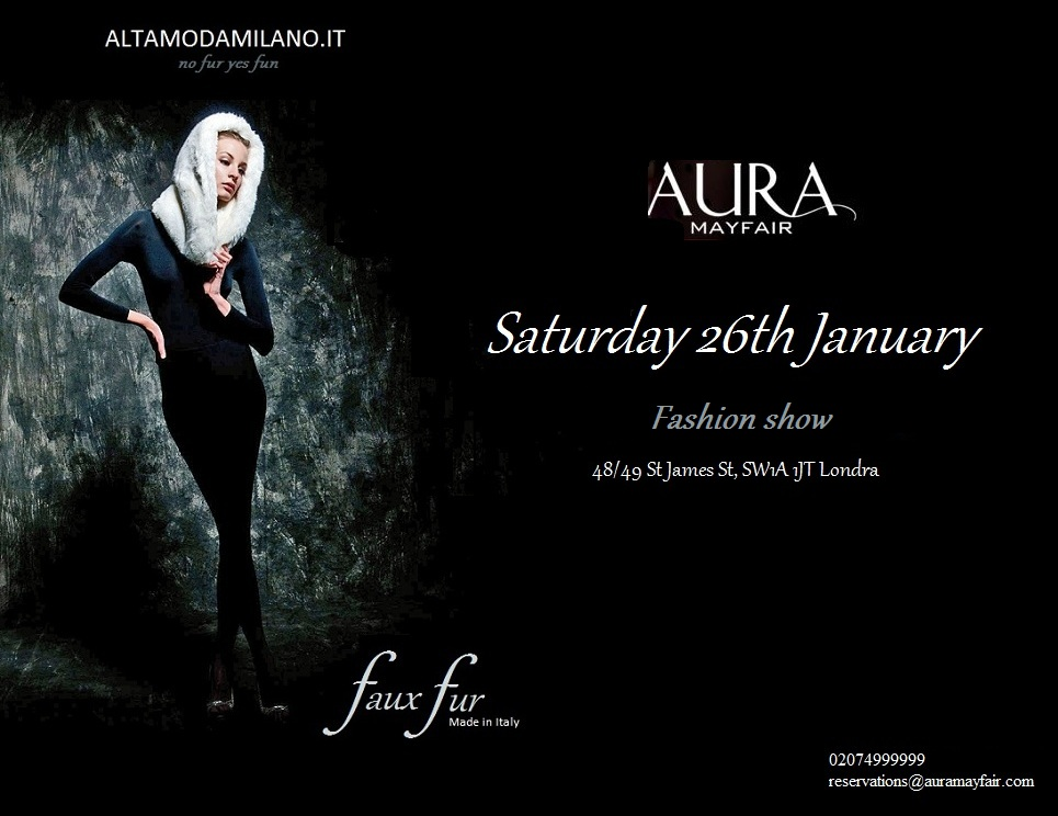 1 faux fur altamodamilano.it AURA mayfair londra