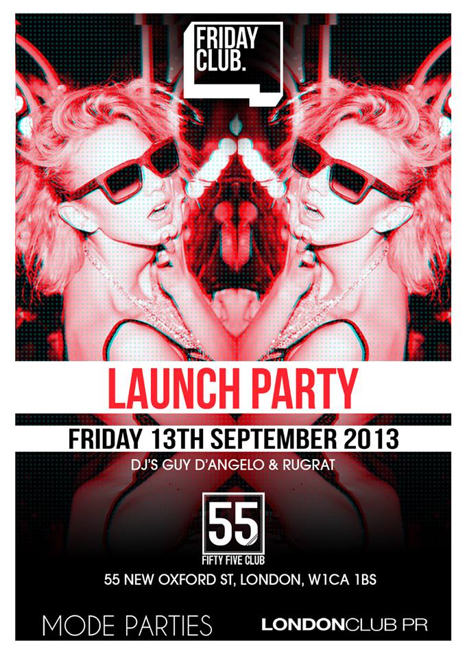 Friday Club Launch Party