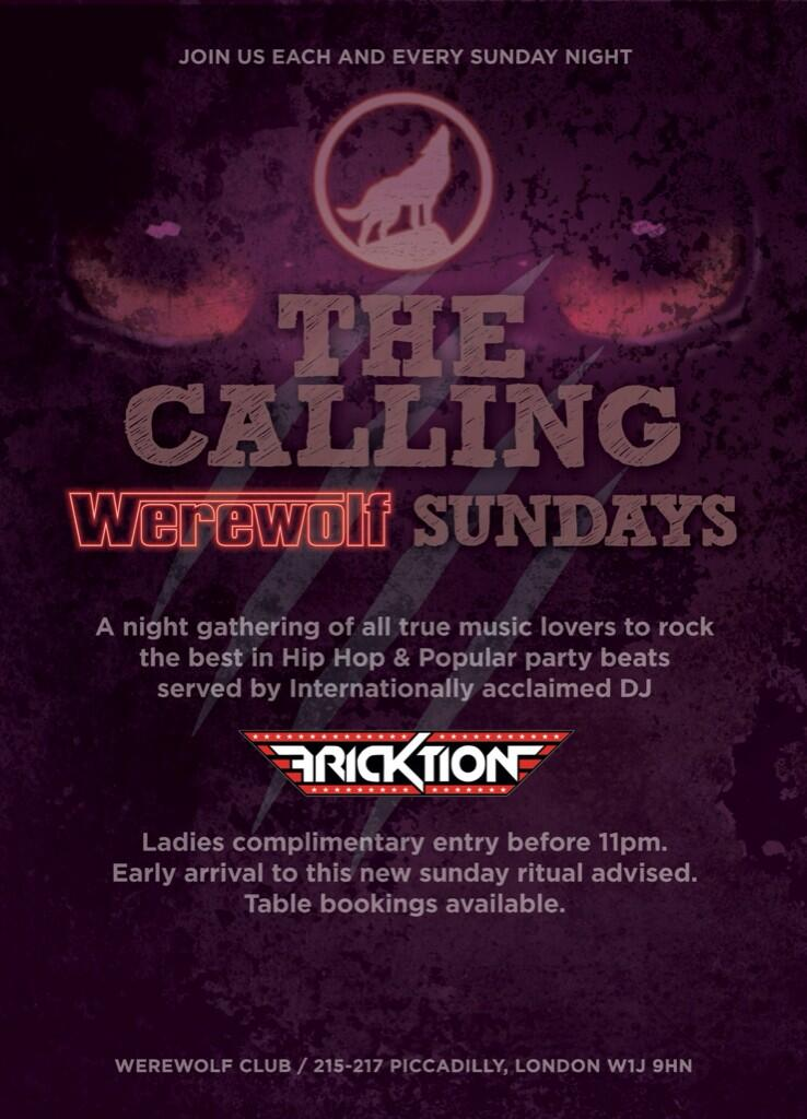 Werewolf Club Sunday