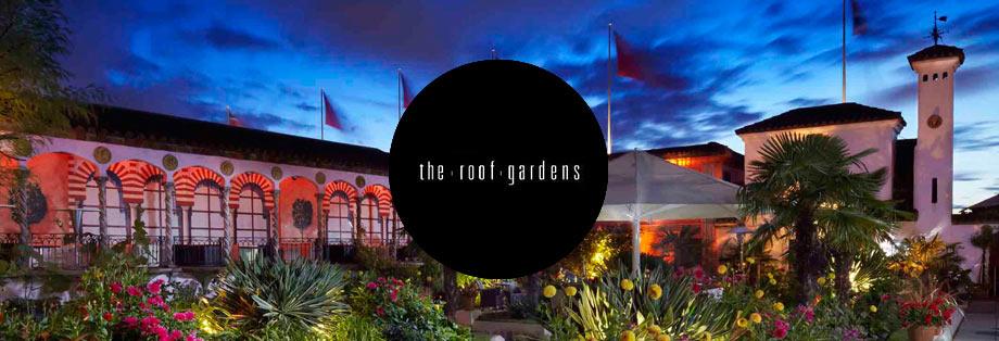Velvet PR –Kensington Roof Gardens Guestlist - Guestlist And Table Bookings For Kensington Roof Gardens