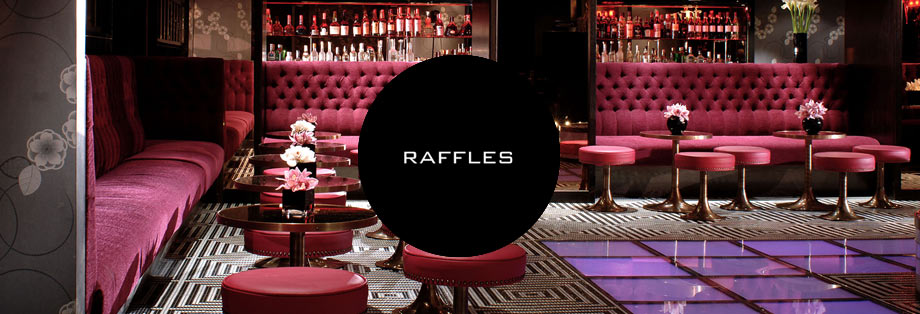 Raffles Guestlist & Raffles Table Booking