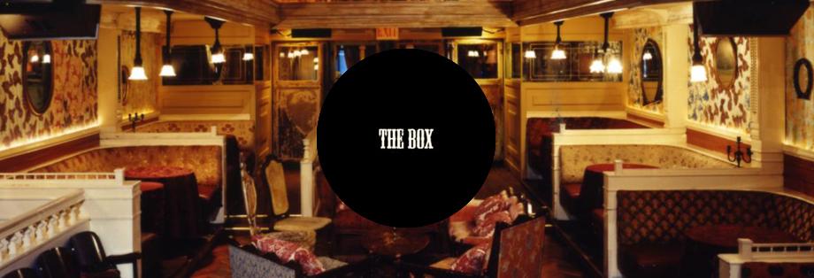 The Box Guestlist