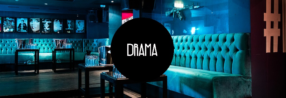Drama Guestlist, Table Prices & Drama Table Bookings