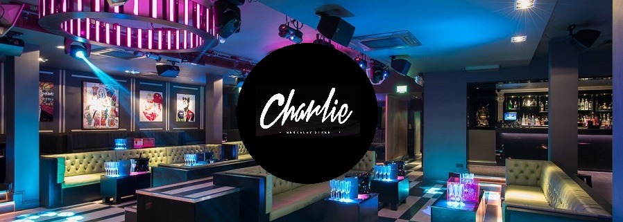 charlie guestlist entry & charlie table bookings